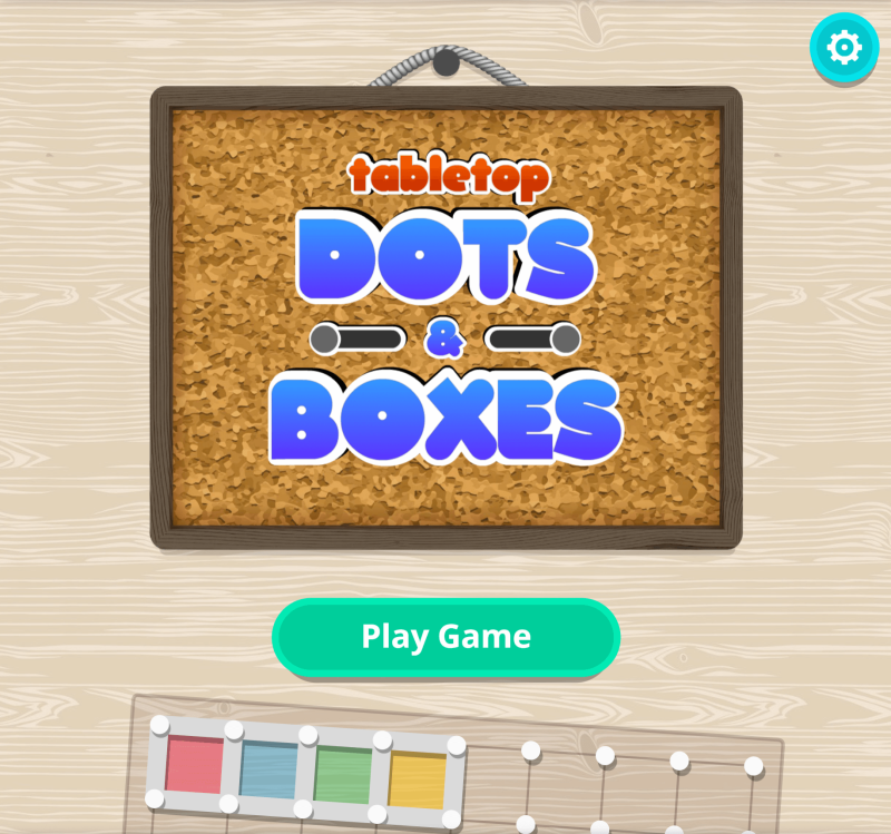 """dots and boxes title screen"" title=""dots and boxes title screen"""